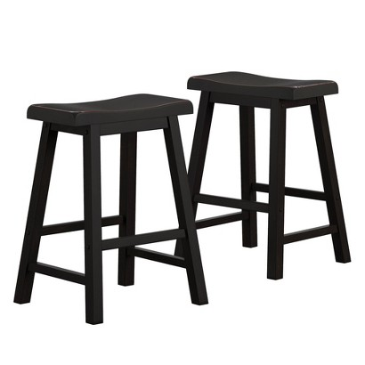 Scoop Stool - Black