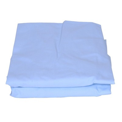 Royal Heritage 2pk Cotton Cradle Sheets - Blue