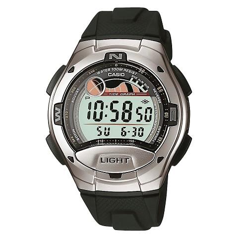 Casio Digital Sport Watch - Black - W753-1AV