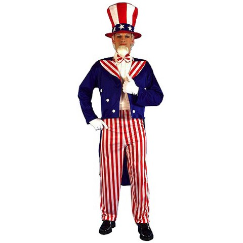 Men's Uncle Sam Costume - One Size Fits Most