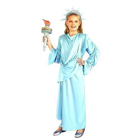 Girl's Little Miss Liberty Costume