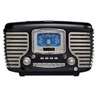 Crosley Corsair CD Player/Radio - Black (CR612-BK)