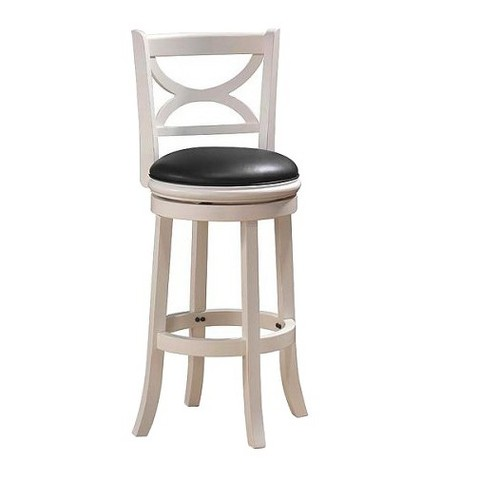 Florence Swivel Stool - White Sand-Through