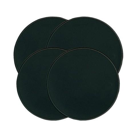 Round Burner Covers 4-pc. Set - Black
