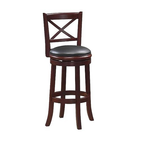 Georgia Swivel Stool - Light Cherry Finish