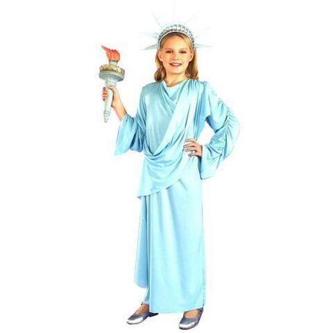 Girl's Little Miss Liberty Costume