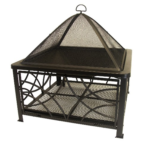 Saratoga Outdoor Fireplace
