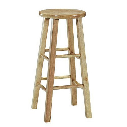 Round-Top Stool - Natural