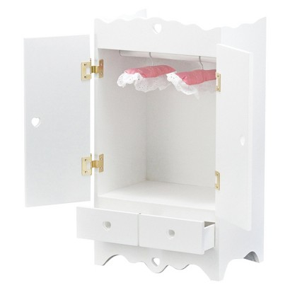 Melissa & Doug® Armoire for Dolls - White