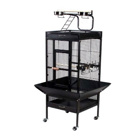 Prevue Pet Products Select Signature Wrought Iron Bird Cage - Black (Large)