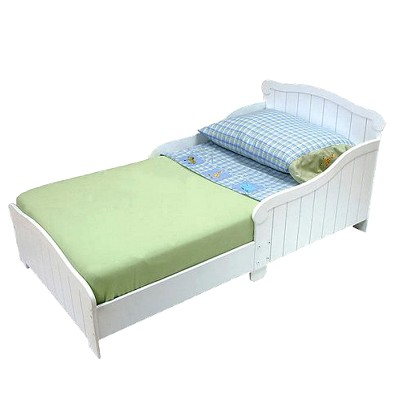 KidKraft Nantucket Toddler Cot - White