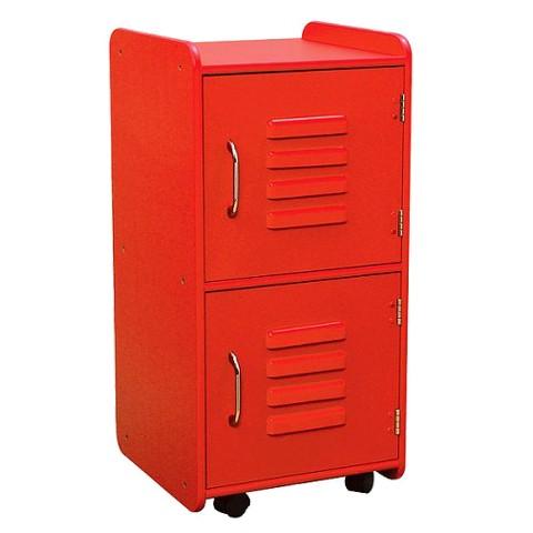 Medium Locker - Red