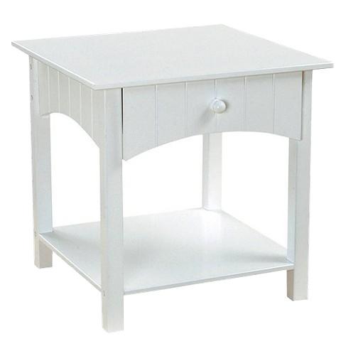 KidKraft Nantucket Toddler Table - White