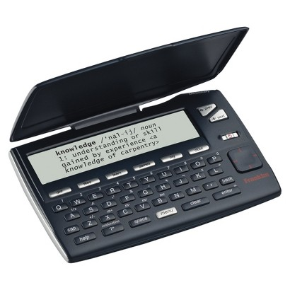 Franklin MWD-465-01 Merriam-Webster Dictionary