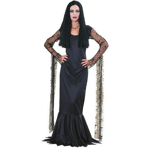 Women's The Addams Family Morticia Costume