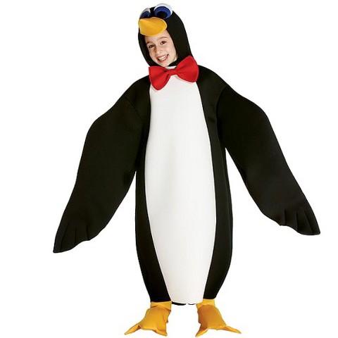 Boy's Lil' Penguin Costume - Medium