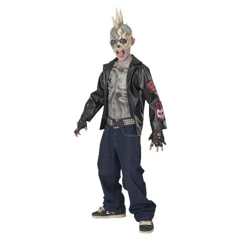 Kids' Punk Zombie Costume