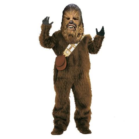 Boy's Star Wars Chewbacca Super Deluxe Costume