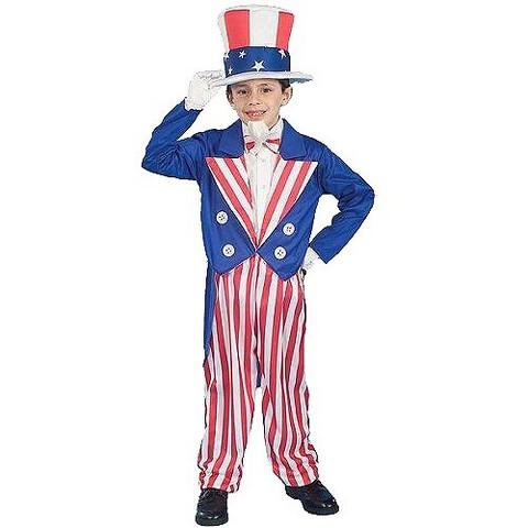 Boys' Uncle Sam Costume