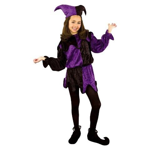 Boy's Jester Pre-Teen Costume