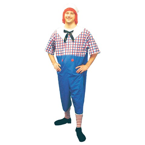 Men's Raggedy Andy Costume - Plus Size
