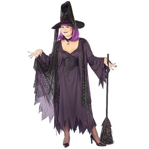 Women's Mystic Witch Costume - Plus Size