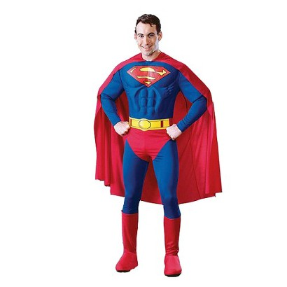 Men's Superman Deluxe Costume