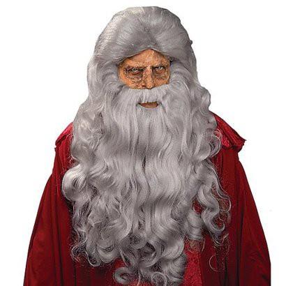 Adults' Moses Wig and Beard - Gray