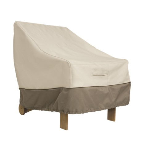 Patio Chair Cover Beige Brown