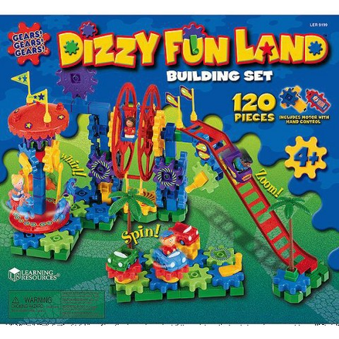 Learning Resources Dizzy Fun Land Building Set