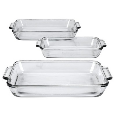 Anchor Hocking 3-pc. Baking Dish Value Pack
