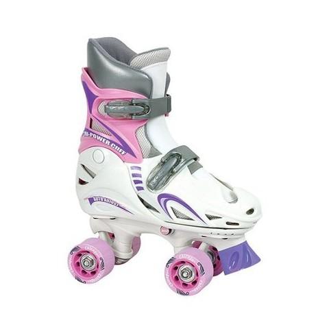 Girls' Chicago Adjustable Quad Roller Skates