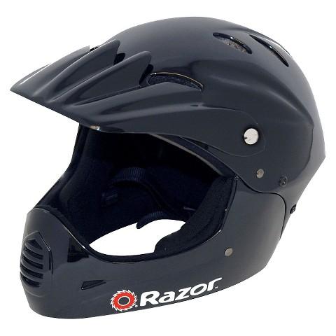Razor Youth Full Face Helmet Gloss - Black