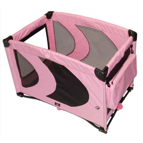 Portable Pet Kennel - Pink Ice (Medium)