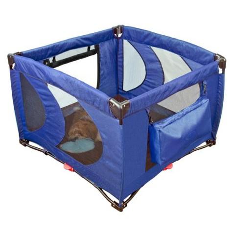 Portable Pet Kennel - Cobalt Blue (Large)