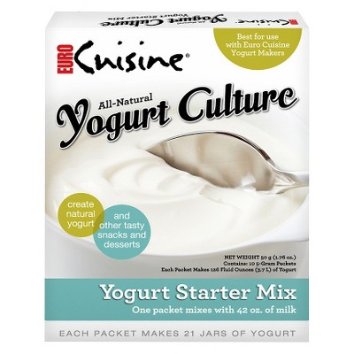 Euro Cuisine All-Natural Yogurt Starter 5-pk.
