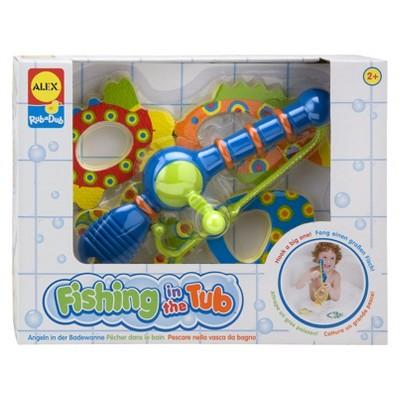 BATH TOY ALEX FISHING IN THE TUB