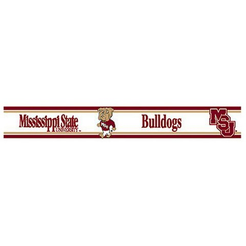 Mississippi State Bulldogs Wall Border - Set of 2