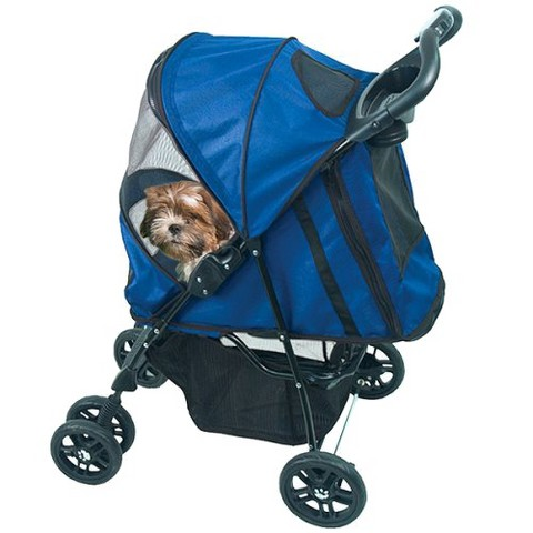 Cobalt Blue  Happy Trails Stroller  - Med
