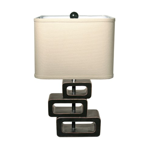 orbit exotic retreat table lamp espresso base target. Black Bedroom Furniture Sets. Home Design Ideas