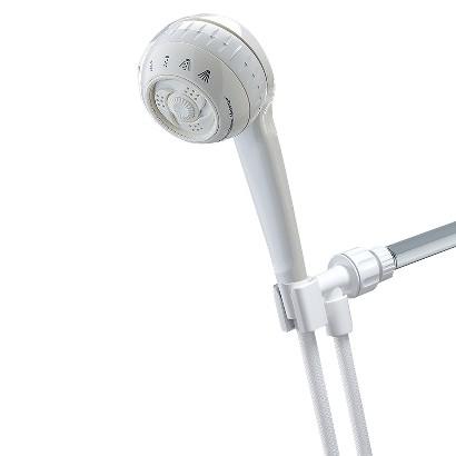 Waterpik SM-451 Powerspray+ Hand-held 4-Function Showerhead - White