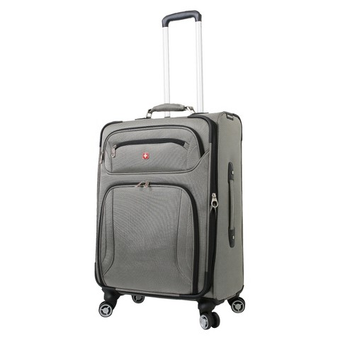 "SwissGear Zurich 24"" Upright Pewter"