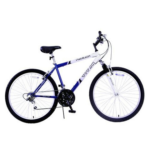 "Titan Mens Trailblazer 2.0 26"" Mountain Bike - Blue/White"