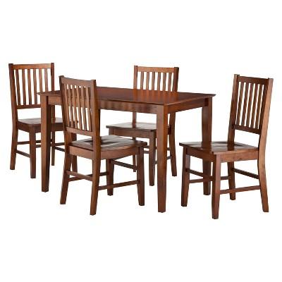Luxury Dining Table Set Eastgate piece Dining Set Dark