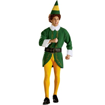 Men's Buddy Elf Costume