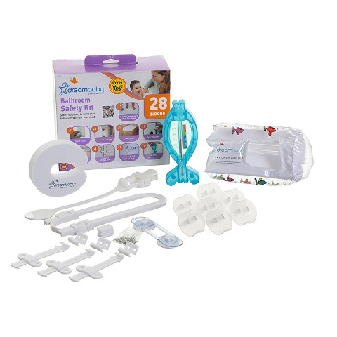 Dreambaby Bathroom Safety Value Kit - 28 Pieces