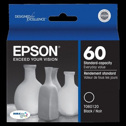 Epson T060120 Black Ink Cartridge for CX3800 Printer