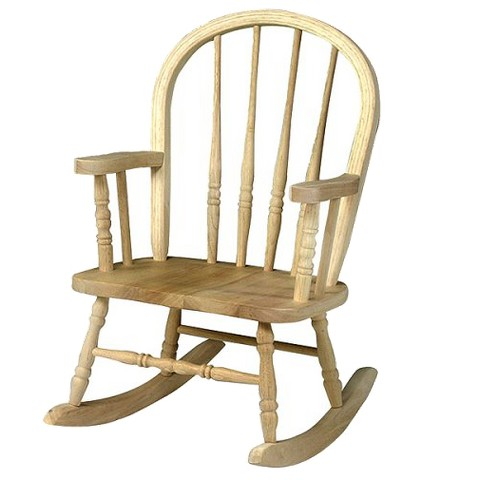 Unfinished Windsor Rocker