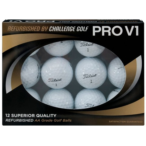 Titleist Pro V1 Refurbished Golf Balls 12pk