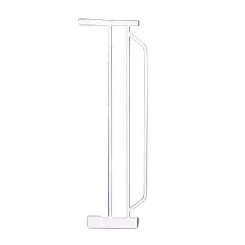 White Extension for Extra-Wide Pet Gate 6""